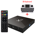 [Auténtica] X96 S905X Amlogic Quad Core Android 6.0 TV Box 4 K 2G/16G 2.0A WiFi HDMI Smart Tv Box Media Player Miracast Set Top caja
