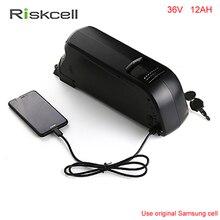 No taxes  electric bicycle 36V 12Ah battery by Samsung cells 36v 12ah Li-ion battery 36v 12ah ebike battery fit 36v bafang motor