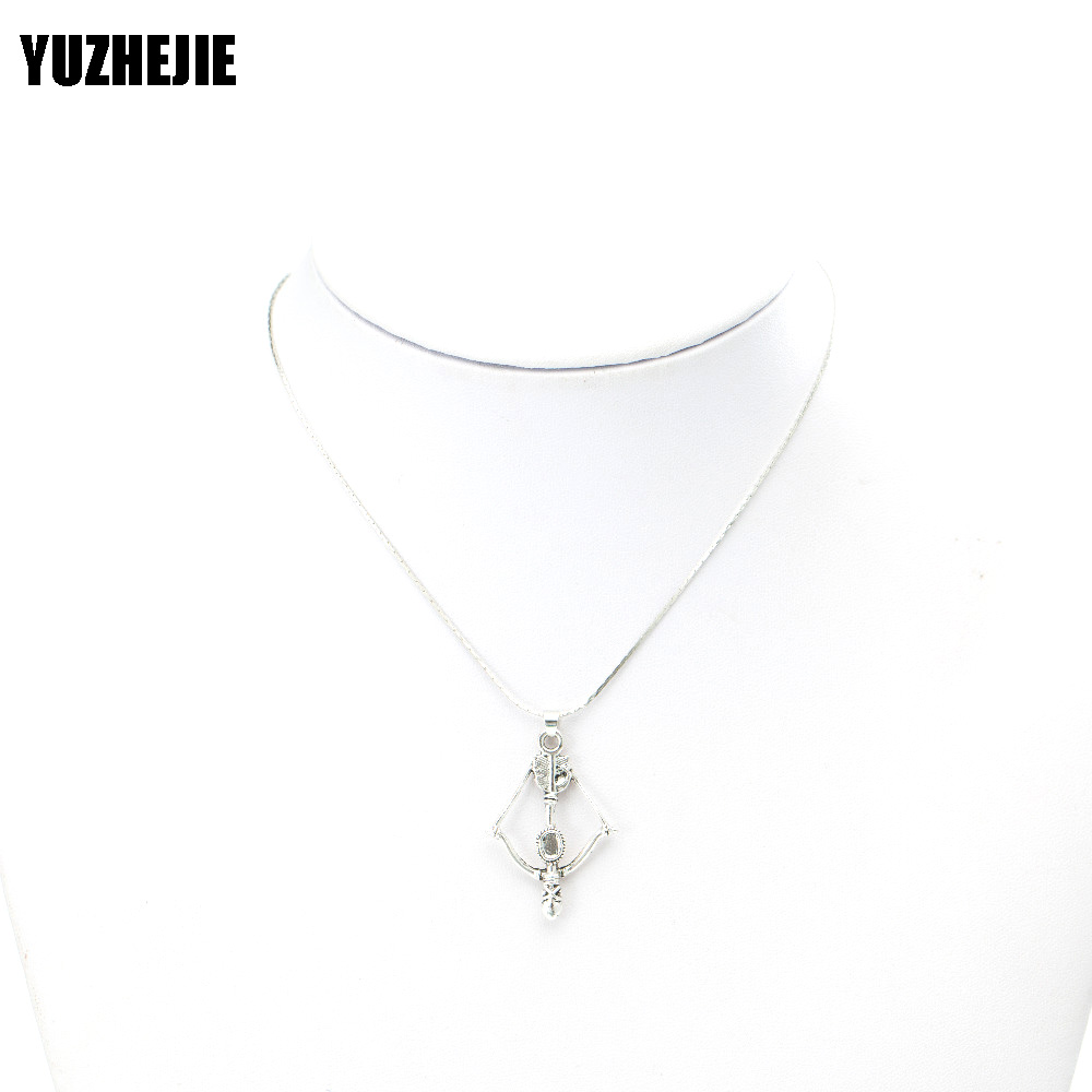 YUZHEJIE (100PC)Womens Mens Simple Alloy Frog tiger yaga music football pendant Necklace Diverse Shape Necklace