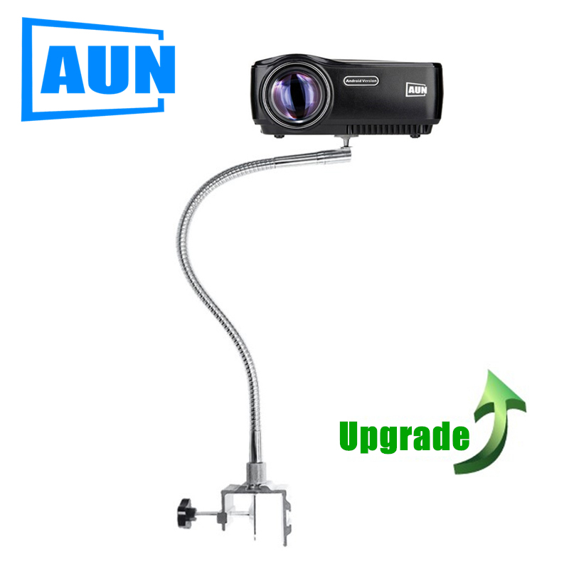 AUN bendable 360 angle projector bracket bend tube length 60CM Withstand less than 2KG suitable for
