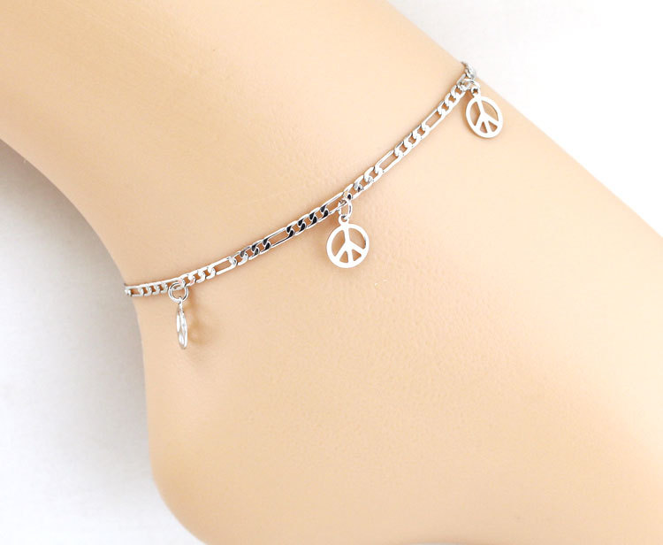 Rose Gold Anklet Pearl Leg Bracelet Foot Beach Jewelry Ankle Bracelets Women Enkelbandje Tornozeleira Pulseras Tobilleras Mujer Novel Design; In