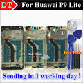 "High Quality Touch Screen Digitizer Touch Panel + LCD Display Replacement For Huawei P9 Lite / G9 5.2"" Smartphone With Frame"
