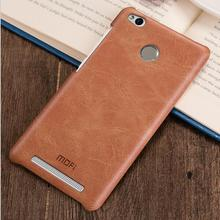 For Xiaomi Redmi 3 Pro case MOFi original back cover Xiomi Redmi 3 Prime 3gb 32gb coque funda leather hard cases Redmi3