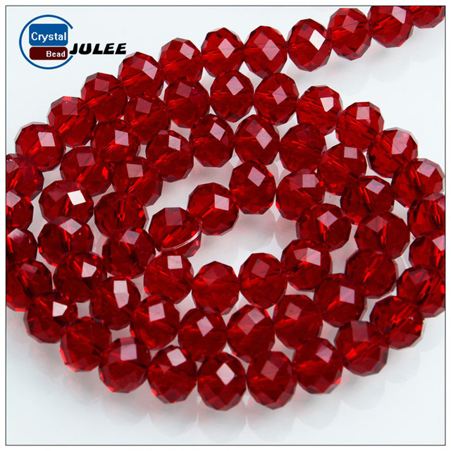 JuleeCrystal 2mm 3mm Glass Rondelle Beads Wholesale Czech Crystal Wheel Beads for diy Jewelry Making