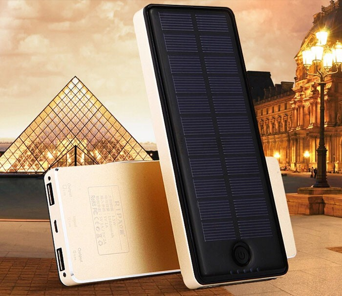 solar panel power bank 20000 mah 1