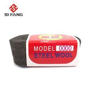 Image 5 - 1 drut stalowy pc wełna klasa 0000 # 3 # do polerowania czyszczenie farby usuwanie rdzy 4m