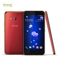 Original HTC U11 6GB RAM 128GB ROM Edge Sense USonic 4G LTE Octa Core 5 5