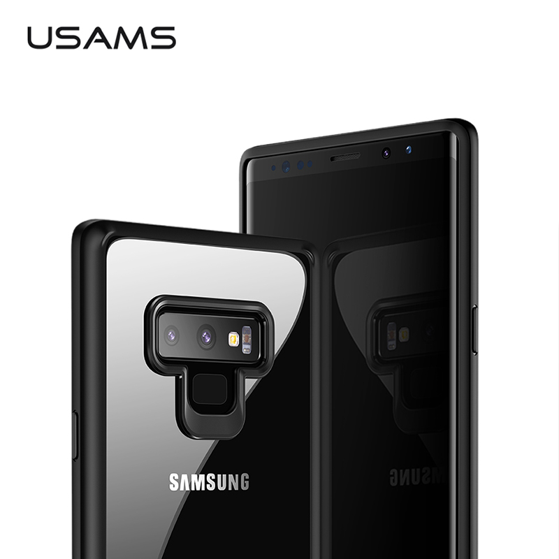 USAMS Phone Case For Samsung Note 9 Case Ultra Slim Back Cover for Samsung Full Protective Note9 TPU Protector Soft Case