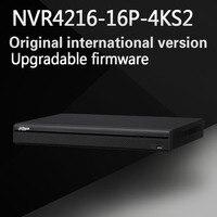 DAHUA 16hannel 1U 16PoE 4K H 265 Lite Network Video Recorder Without Logo NVR4216 16P 4KS2