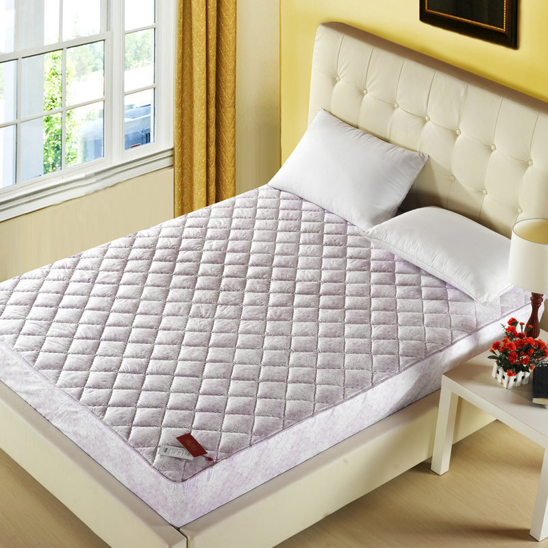 Fitted Thick Quilted Purple Simmons Mattress Protector