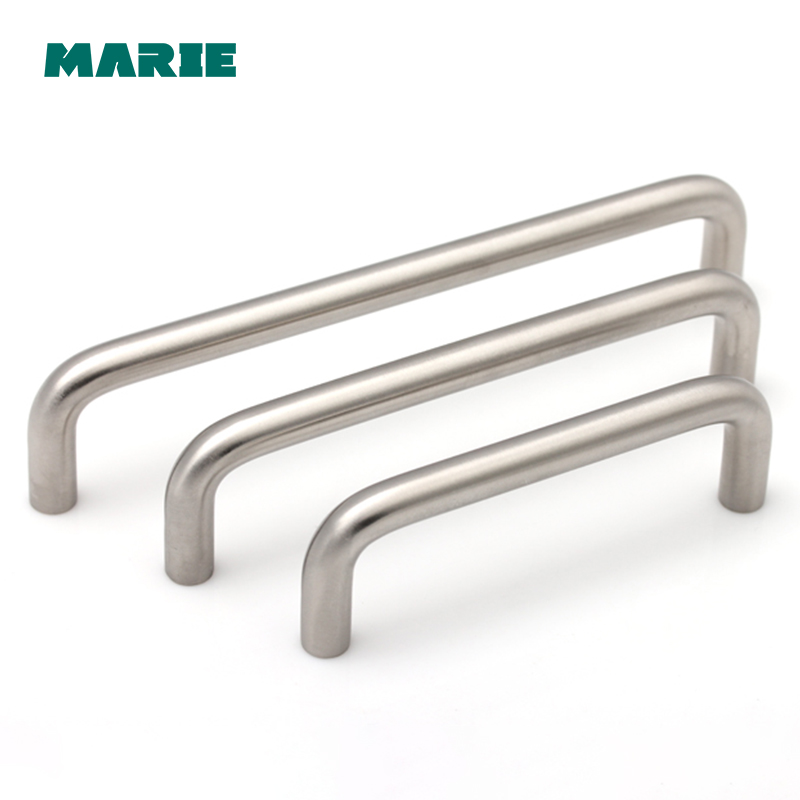 96mm/128mm/160mm aço inoxidável 304 punho Móveis de Cozinha puxa wardrobe gaveta pega pega