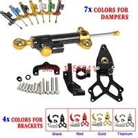 Motorcycle Adjustable Steering Damper Bracket Mounting Kit For Honda CBR1000RR ABS SP 2008 2016 09 10 11 12 13 14 15 CBR1000 RR