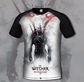 T-Shirt Gamer The Witcher 3 Wild Hunt