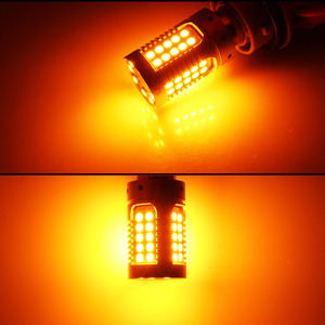 Image 5 - IJDM Canbus لا فرط فلاش العنبر الأصفر 7440 W21W WY21W T20 LED استبدال مصابيح سيارات السيارات الأمامي أو الخلفي بدوره أضواء الإشارة