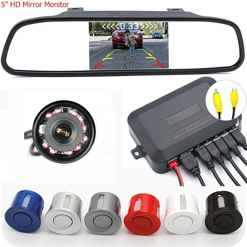 ФОТО GreenYi Car Parking Video Radar Sensor Detector Alarm System + 5