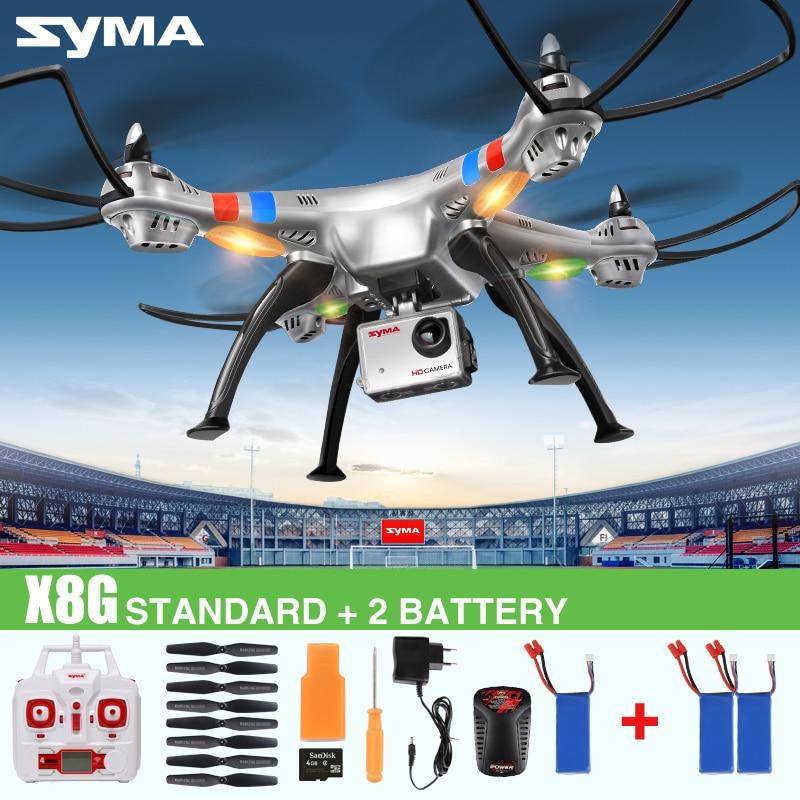 <font><b>SYMA</b></font> X8C X8W X8G 2.4G 4CH 6 Axis Professional FPV <font><b>RC</b></font> <font><b>Drone</b></font> <font><b>With</b></font> 8MP HD Camera <font><b>Quadcopter</b></font> <font><b>Wifi</b></font> Real-time Transmit Helicopter