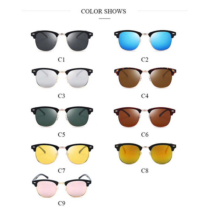 82bce626b473 Jsooyan Fashion Polarized Sunglasses Women Men Unisex Driving Sunglass  Classic Retro Round Shades Sun Glasses Male Eyewear-in Men's Sunglasses  from Apparel ...