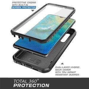 Image 4 - Funda para Huawei P30 de 6,1 pulgadas (2019), carcasa resistente UB Pro de cuerpo completo con Protector de pantalla incorporado y funda