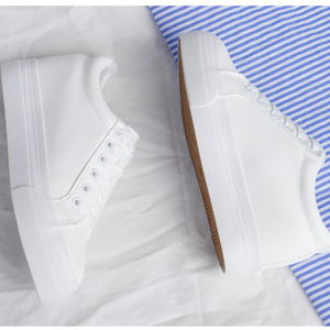 Image 5 - Fashion Platform Sneakers New Autumn Women Shoes For Woman Casual Shoes Wild Platform Heels Female Leisure Women White Sneakers