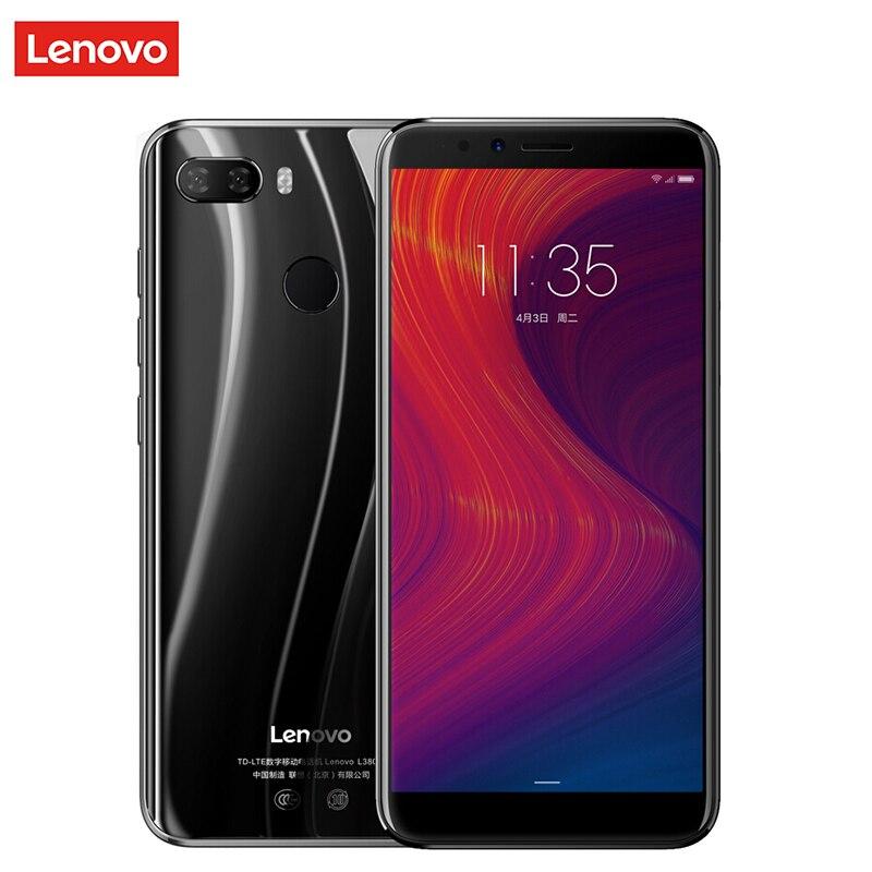 Original Lenovo K5 Play 3GB 32GB 4G LTE Mobile Phone 5.7'' IPS Snapdragon MSM8937 OctaCore 13MP Camera 3000mAh Battery Cellphone