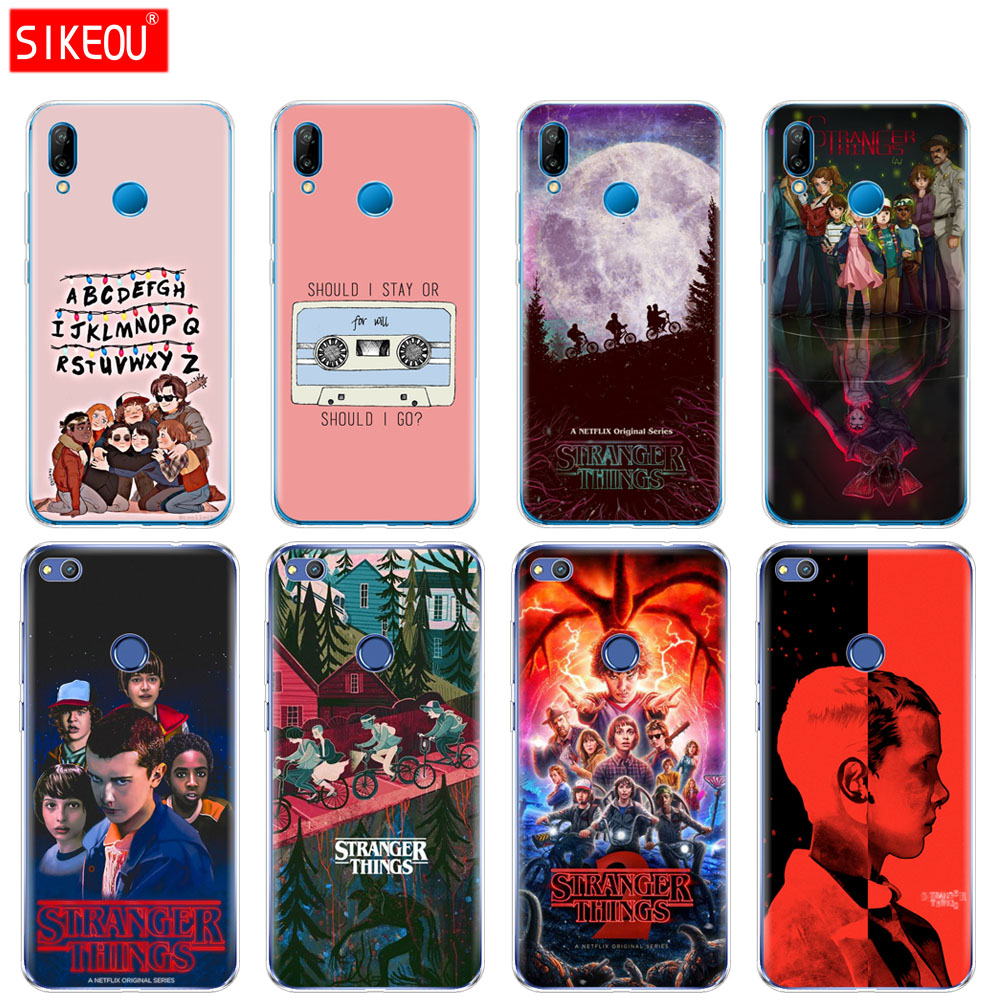 Silicone Cover <font><b>Phone</b></font> <font><b>Case</b></font> For <font><b>Huawei</b></font> <font><b>P20</b></font> P7 P8 P9 P10 <font><b>Lite</b></font> Plus Pro 2017 p smart 2018 <font><b>stranger</b></font> <font><b>things</b></font> image