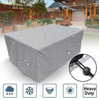 7 Sizes Outdoor Cover Waterproof Furniture cover Sofa Chair Table Cover Garden Patio Beach Protector Rain Snow Dustproof