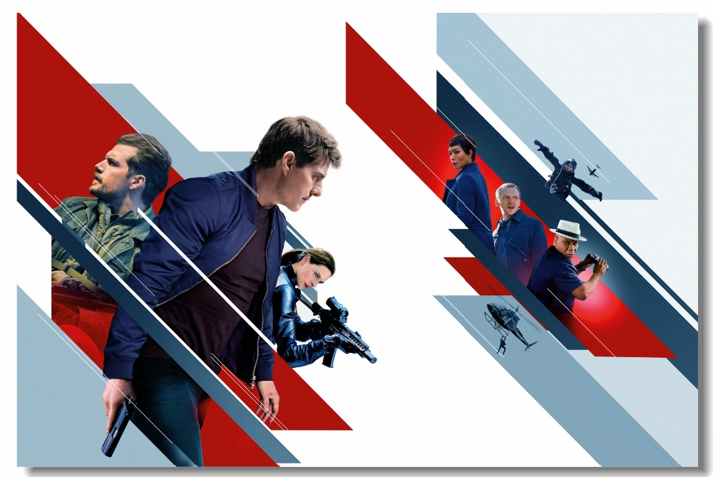 Custom Canvas Wall Mural Henry Cavill Poster Mission Impossible Wallpaper Tom Cruise Wall Stickers Dining Room Decoration 0823 Wall Stickers Aliexpress