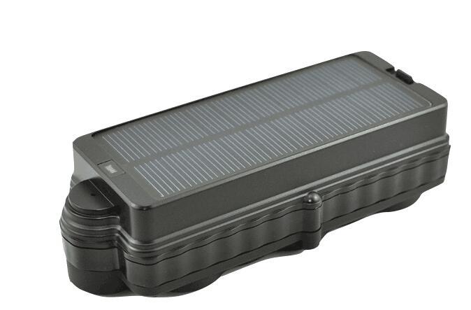 Tracker solaire GPS GSM TK10SSE avec aimant 10000 mAh batterie longue veille site web gratuit/APP