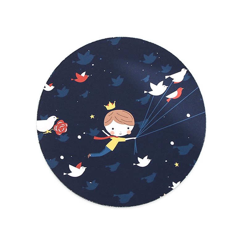 SIFREE 1PCS Mouse Pad Gamer Large Fruit Pattern Rubber Mouse Pad Moon Cute Animal Drop Shipping
