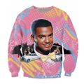 2017 New Fashion Spring Men Women sweatshirt Hollywood Characters Car 3D Printing Sweatshirt Casual Pullover Tractsuit