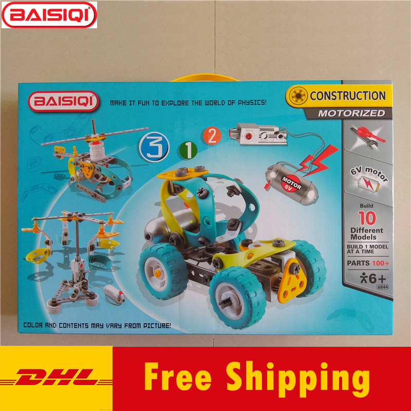 10 IN 1 Assembly tool set Truck Robert Plane model Creative science DIY toy Building block kit for pupil student Gift DHL english in social science vol 1