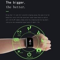 men waterproof D13 Smart Watch 1.3 Inch Men Women For Android Apple Phone Waterproof Heart Rate Tracker Blood Pressure Oxygen Sport Smartwatch (4)