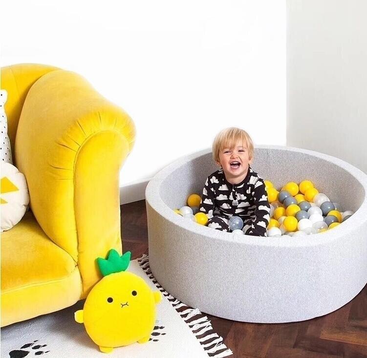 Bébé piscine à balles bébé parc rond Kiddie balles Pit nouveau-né photographie Prop jouer jouet cadeau pour enfants chambre d'enfants