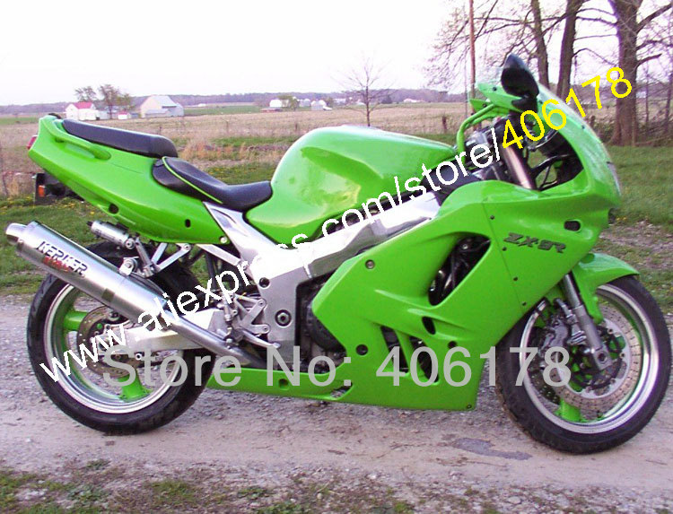 Hot Sales,All green fairing For KAWASAKI NINJA ZX9R 94 95 96 97 ZX-9R 1994 1995 1996 1997 ZX 9R 9 R Custom Bodywork Fairing