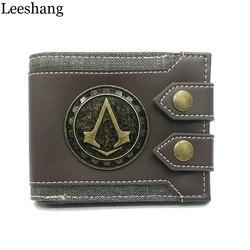 Leeshang men s purse assassins creed wallet men wallet small vintage wallet brand high quality designer.jpg 250x250