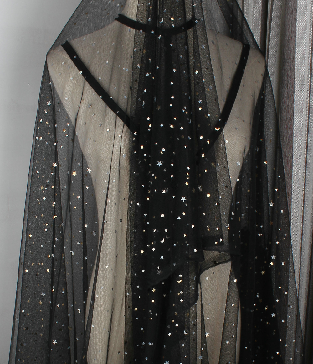 50 150cm Polyester Glitter Star Sequin Tulle Tutu Net Mesh Fabric Wedding  Decor-in Fabric from Home   Garden on Aliexpress.com  049eb42640bb