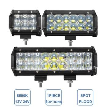 30 w 60 w 90 w offroad led verlichting bar 12 v 24 v auto atv trailer camper truck 4x4 4wd auto caravan 4 6 9 inch fog lamp koplamp