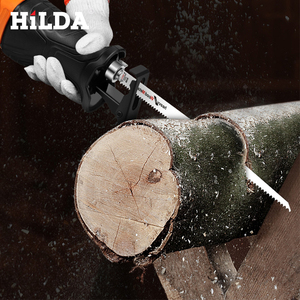 Image 5 - HILDA Electric Saw Reciprocating Saw for Wood Metal Plasitic Pipe Cutting Power Saw Tool with Saw Blades