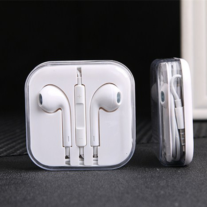 For iPhone 5  6 7 8 Plus X Touch 5 iPad2 3 4 Air Pro Earphone Headset Earpods with Remote & Mic