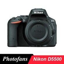 Цифровая зеркальная камера Nikon D5500-24 МП-видео-сенсорный экран с углом наклона-WiFi(Совершенно