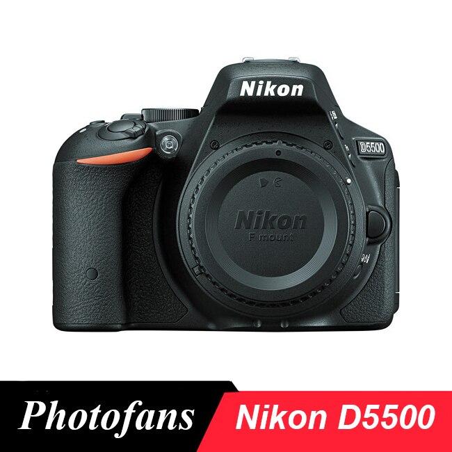 Nikon Câmera Dslr-24.2MP D5500-Video-Vari-Ângulo Touchscreen-Wi-fi (Brand New)