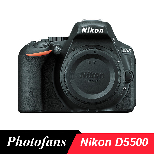 Nikon D5500 Dslr Camera -24.2MP -Video -Vari-Angle Touchscreen -WiFi (novo)