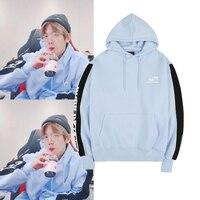 WXCTEAM Kpop EXO BAEK HYUN Hoodie Baek Hyun Same Style Korean Version Couple Long sleeved Casual Sweatshirt Fans Hoodie Moletom
