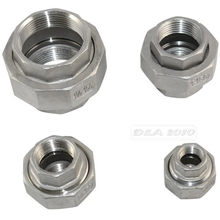 "Megairon Bspt 1/2 ""DN15 Draad Malleable Vrouw Hetero Unie Coulping Buisleidingen Rvs SS304(China)"
