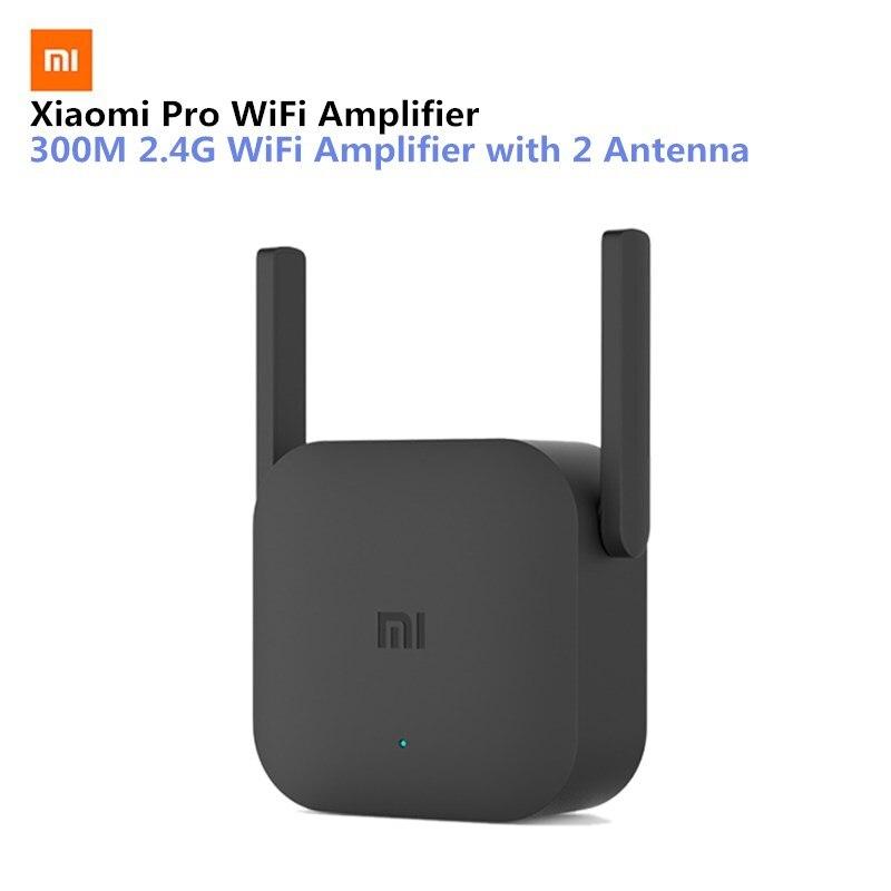 Original xiaomi wifi repetidor pro 300 m wifi amplificador de controle app extensor wi-fi 2.4g wi-fi sinal extensor roteador amplificador