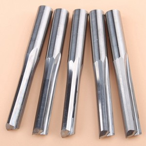 5 шт. 6x25 мм две флейты с прямым шлицем Концевая фреза с ЧПУ два измерения режущие инструменты фреза