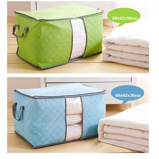 Storage Organizer Bag Clothes Quilt Foldable Storage Wardrobe Multi-purpose Pouch Bag Organize 3