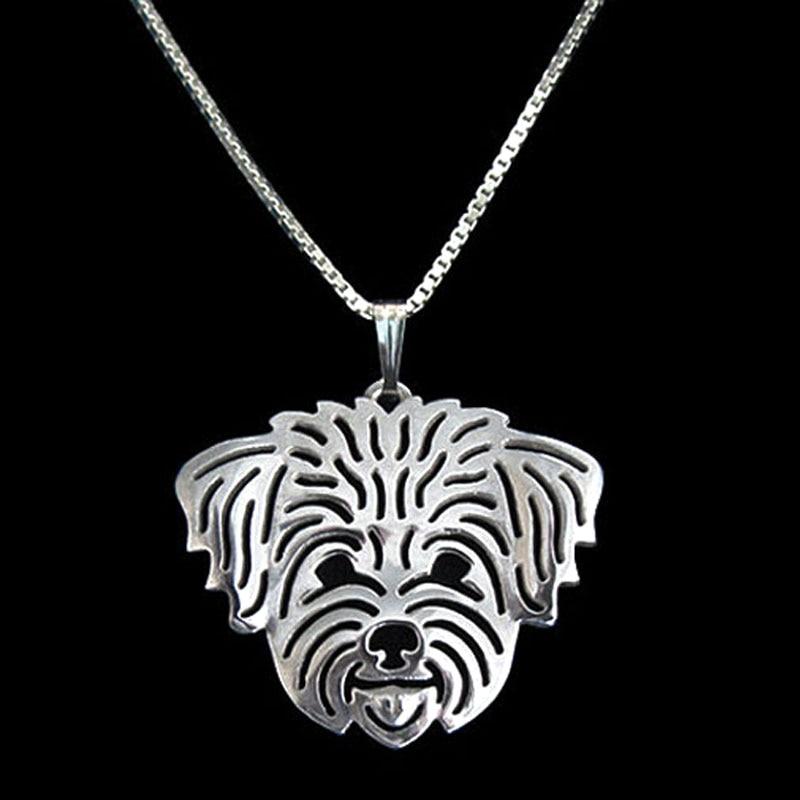 Μαλτέζικη σκυλί κρεμαστό κόσμημα Sliver - Κοσμήματα μόδας - Φωτογραφία 1