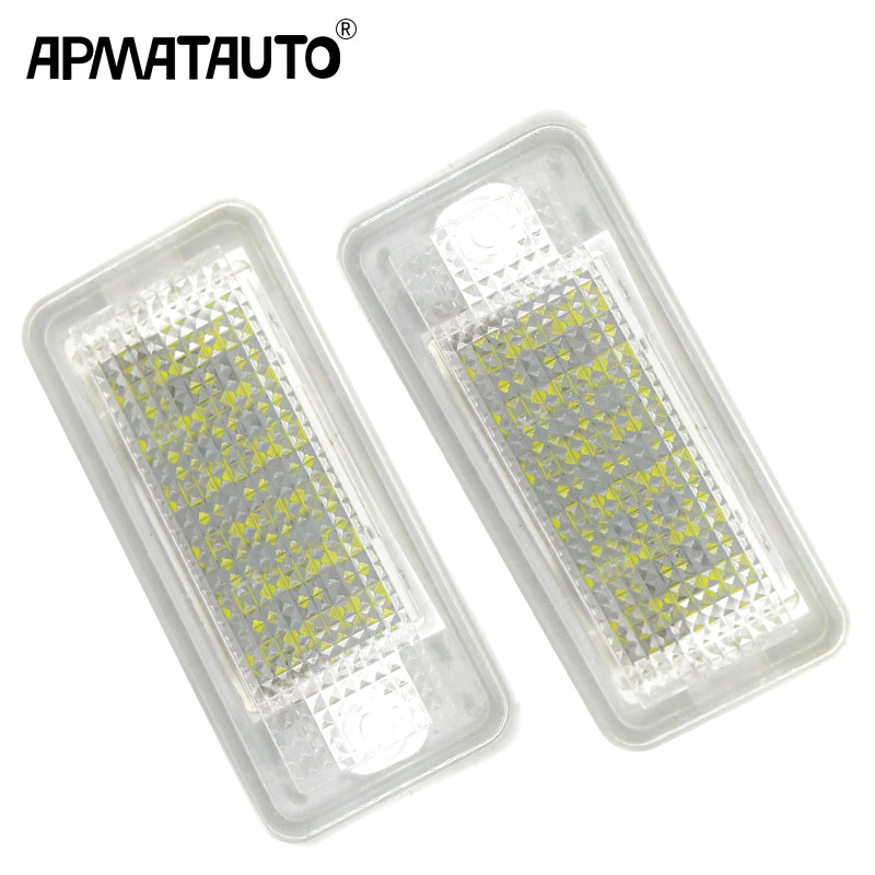 2x Canbus LED License plate light number plate lamp for Audi A3 A4 S4 RS4 B6 B7 A6 RS6 S6 C6 A5 S5 2D Cabrio Q7 A8 S8 RS4 Avant white car no canbus error 18smd led license number plate light lamp for audi a3 s3 a4 s4 b6 b7 a6 s6 a8 q7 147 page 2