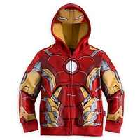 The Avengers, Iron Man Children Hoodies Sweatshirt Boys Girls Spring Autumn Coat Kids Long Sleeve Casual Outwear Baby Clothing